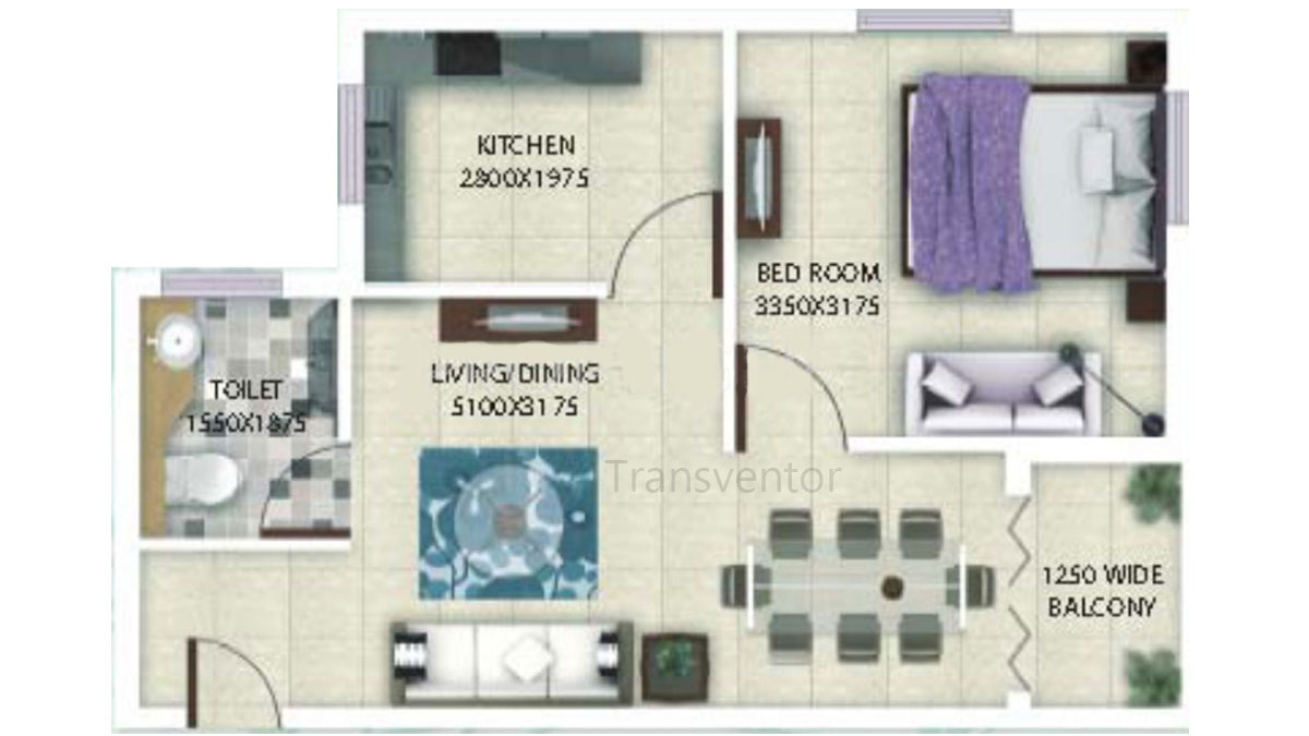 Deeshari Megacity Floor Plan 2