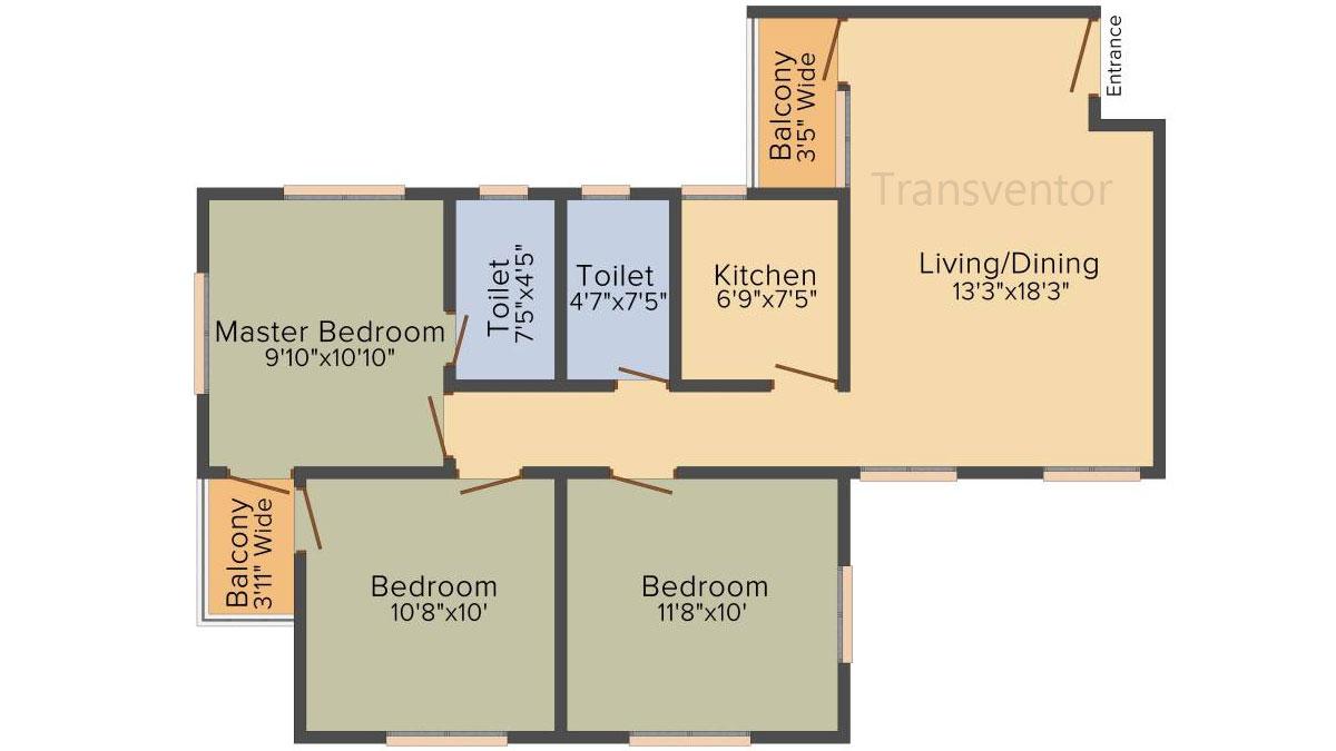 Deeshari Megacity Floor Plan 7
