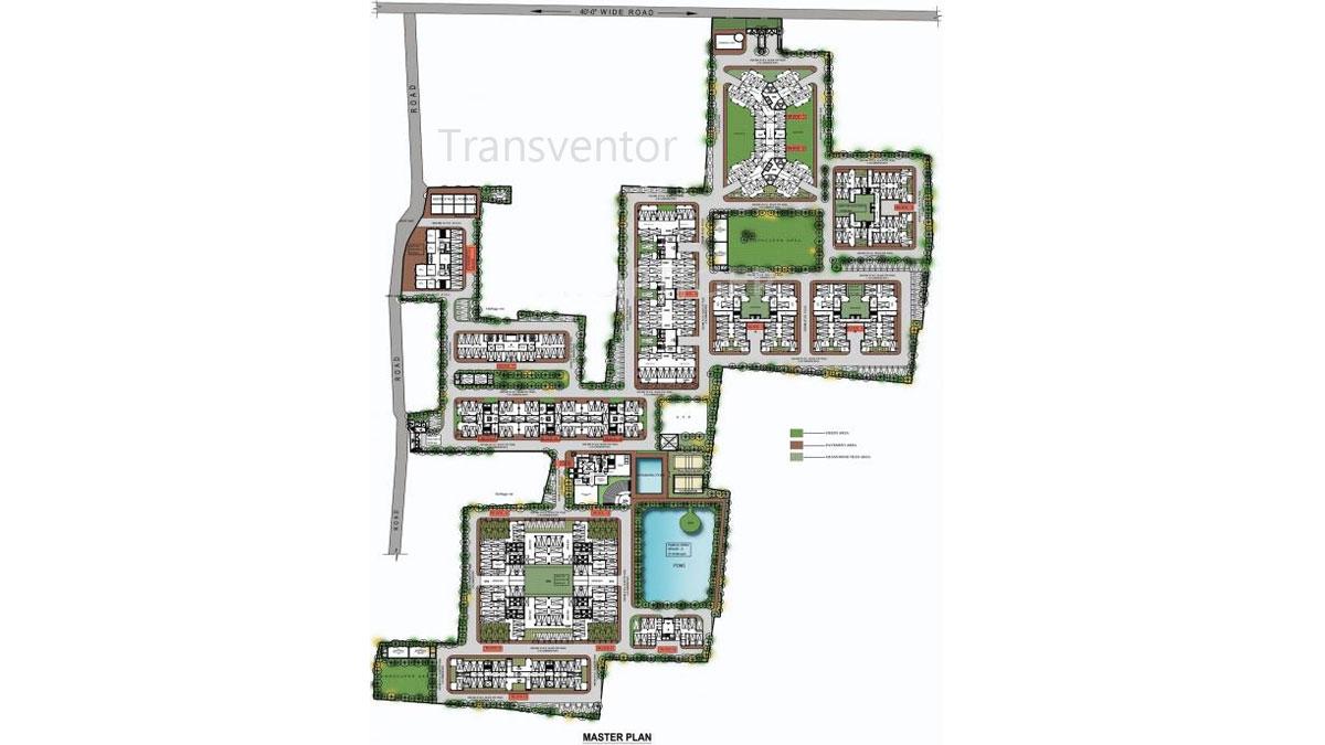 Deeshari Megacity Floor Plan 1