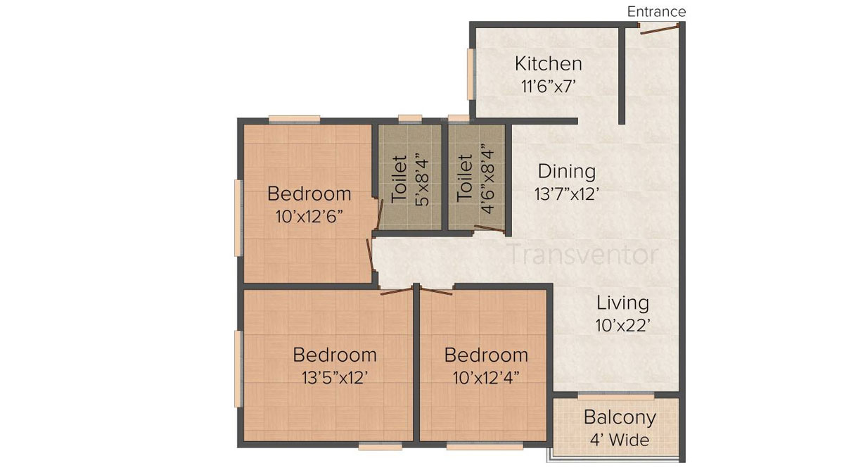 Dream Palazzo Floor Plan 2
