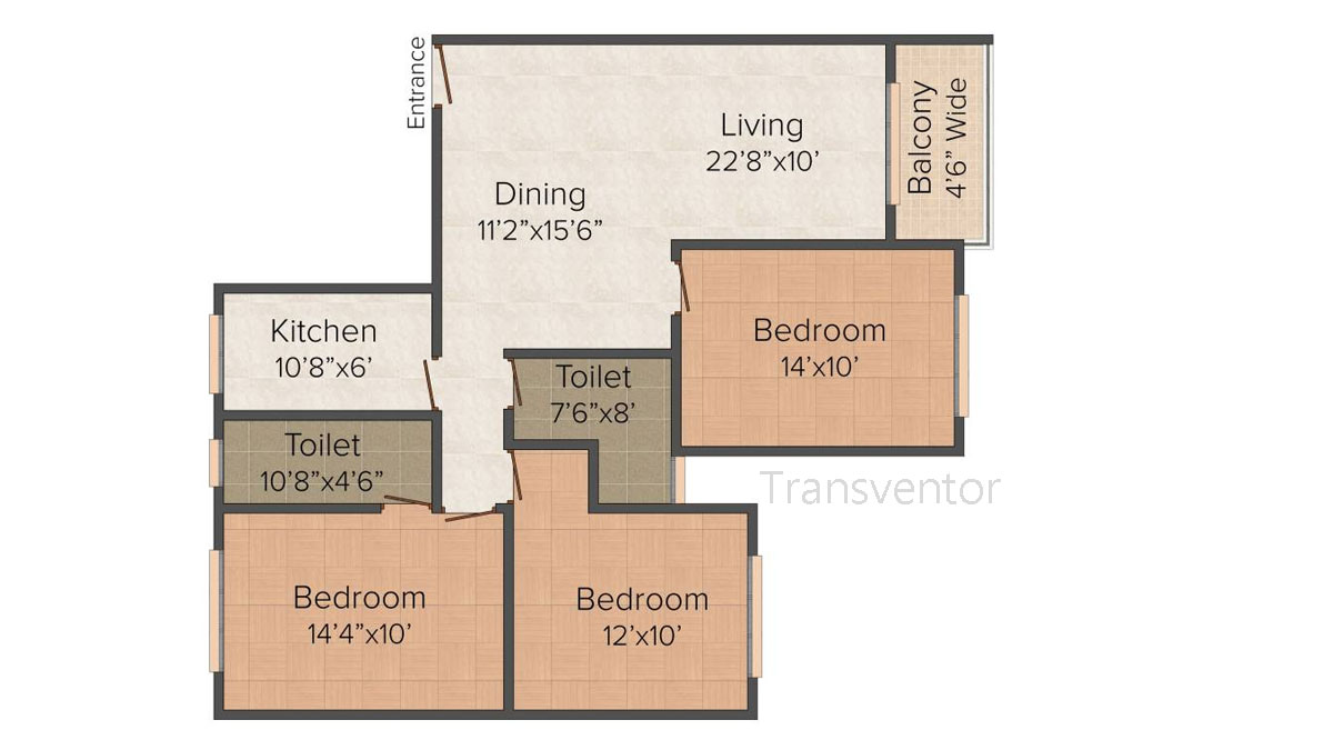 Dream Palazzo Floor Plan 3