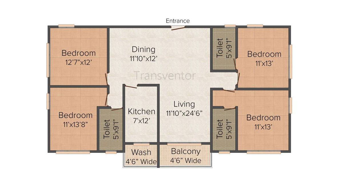 Dream Palazzo Floor Plan 5