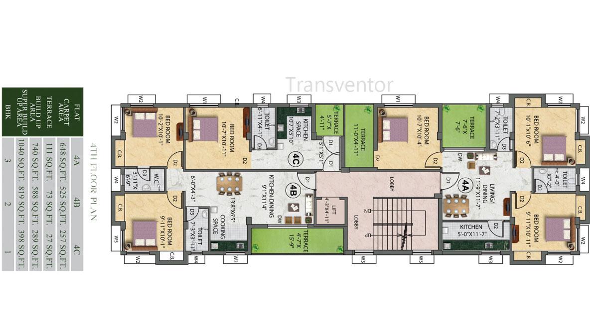 Eden Ivory Floor Plan 2