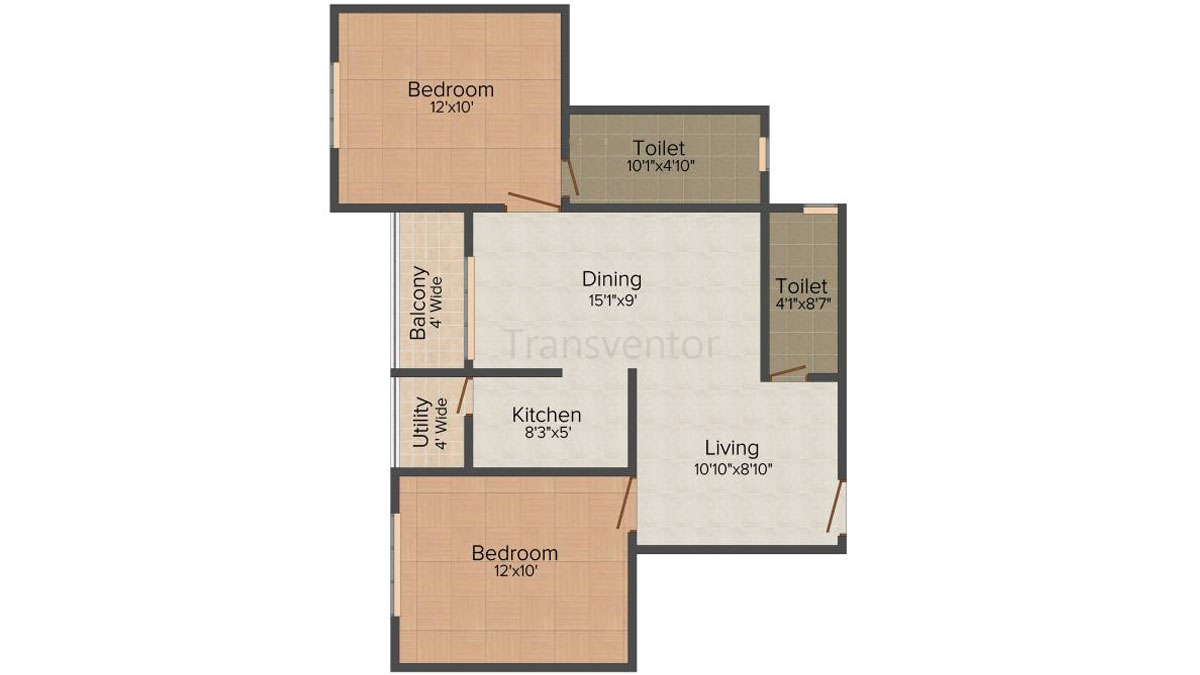 Green Residency Floor Plan 1