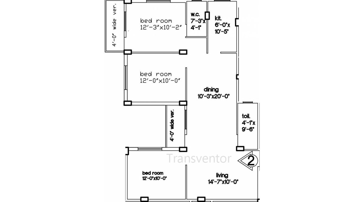 Green Residency Floor Plan 8