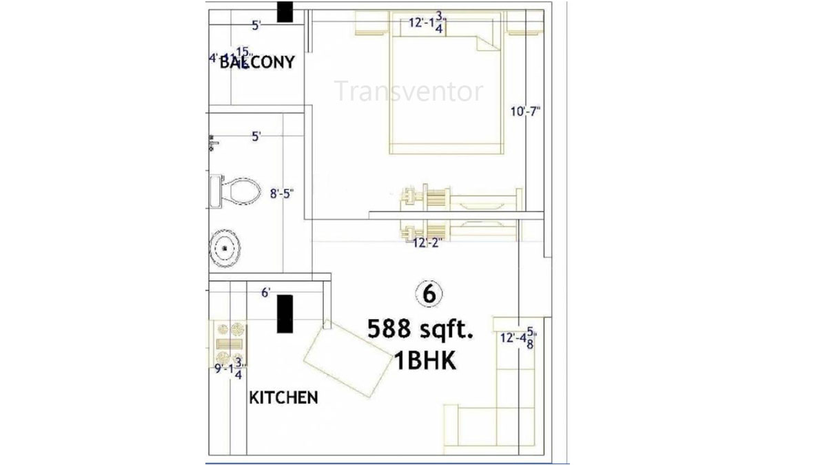 Magnolia Residency Floor Plan 1
