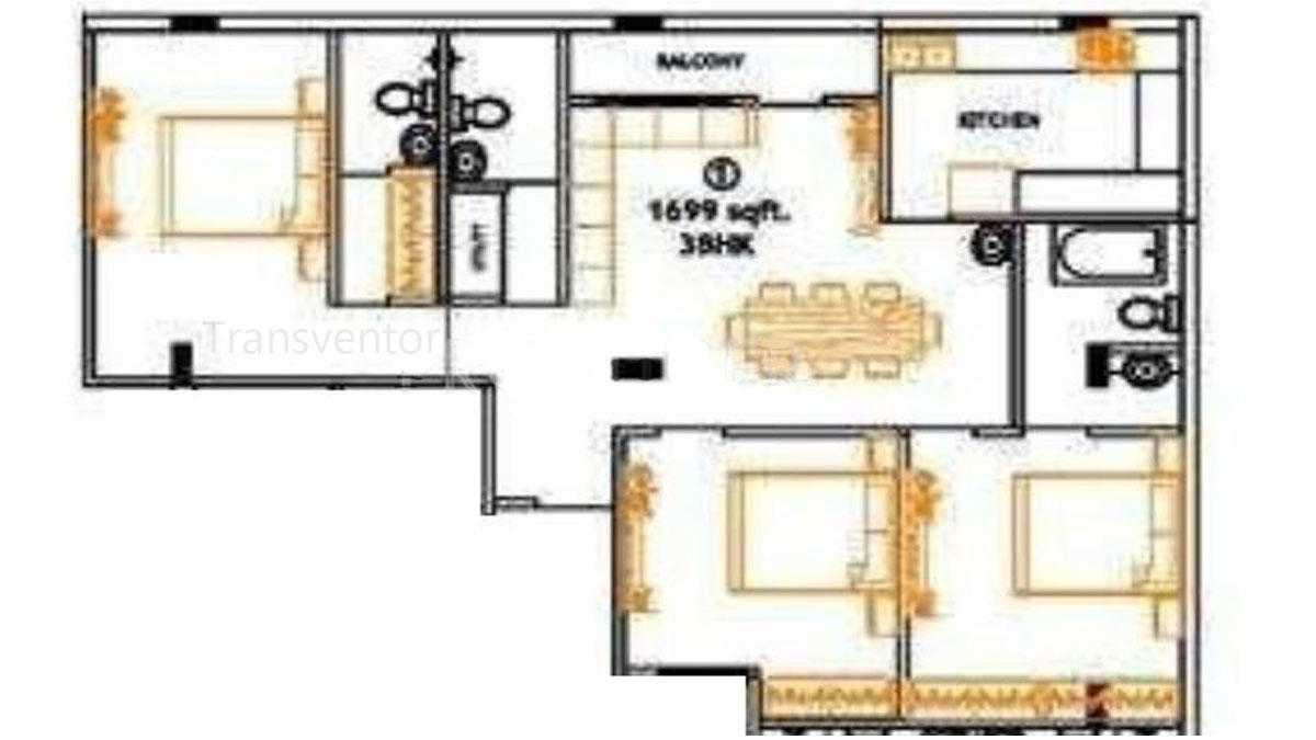 Magnolia Residency Floor Plan 3