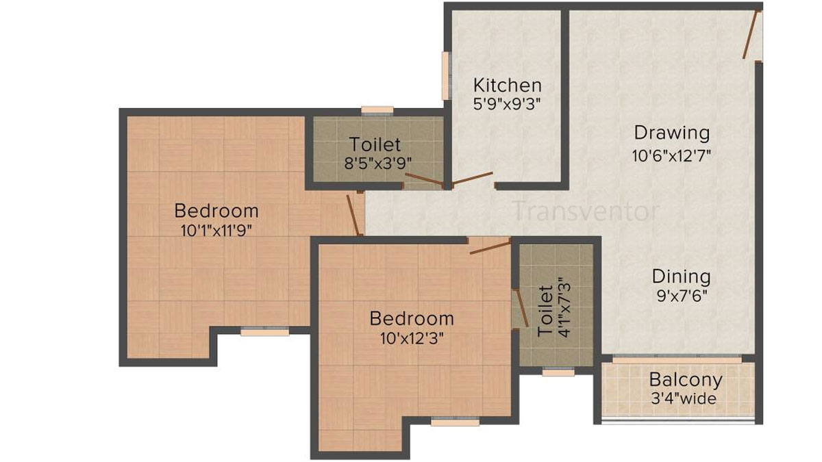 Magnolia Sky View Floor Plan 1