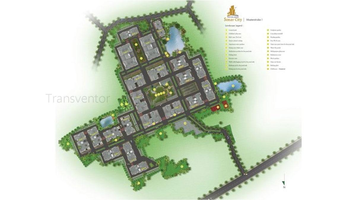 Devaloke Sonar City Floor Plan 1