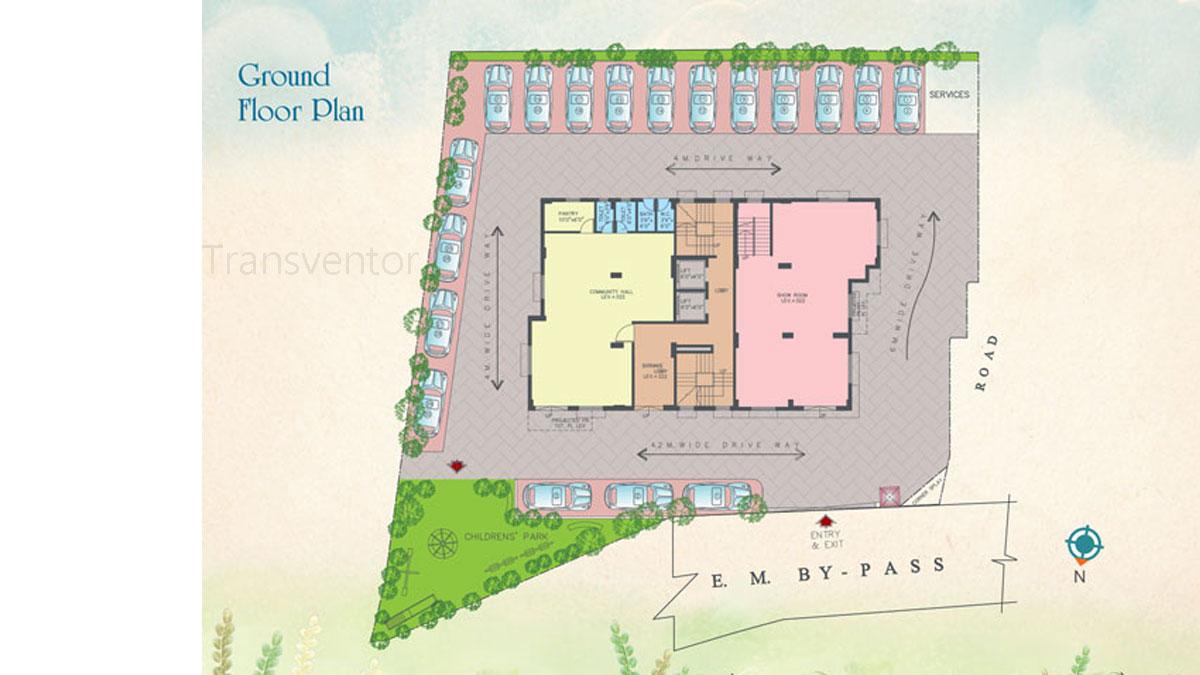 Vinayak Bellezza Floor Plan 1