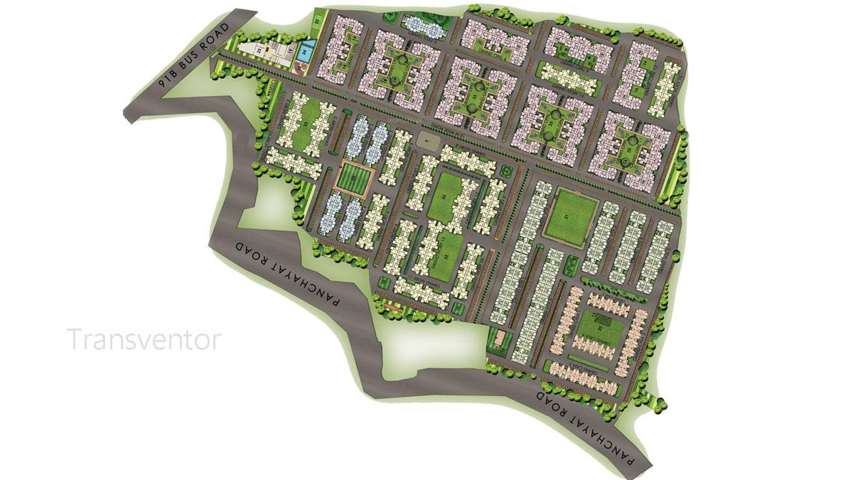 Newtown Grand Floor Plan 1
