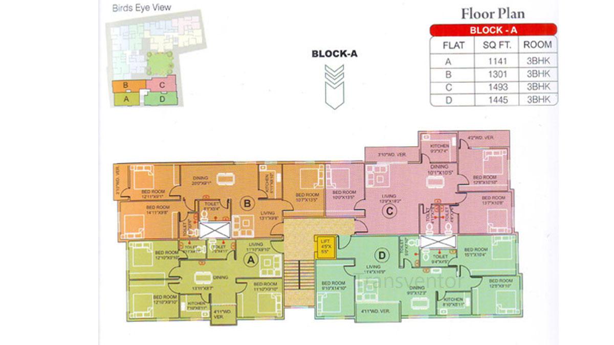 Meena Elegant Floor Plan 2