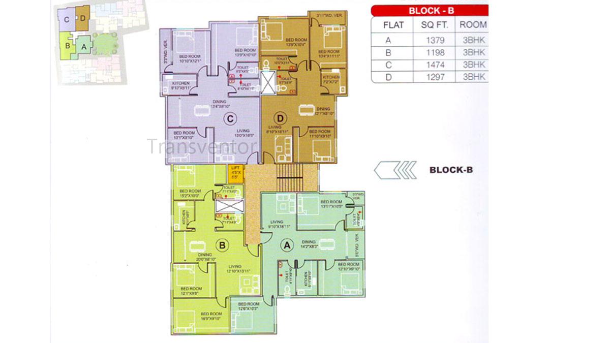 Meena Elegant Floor Plan 3
