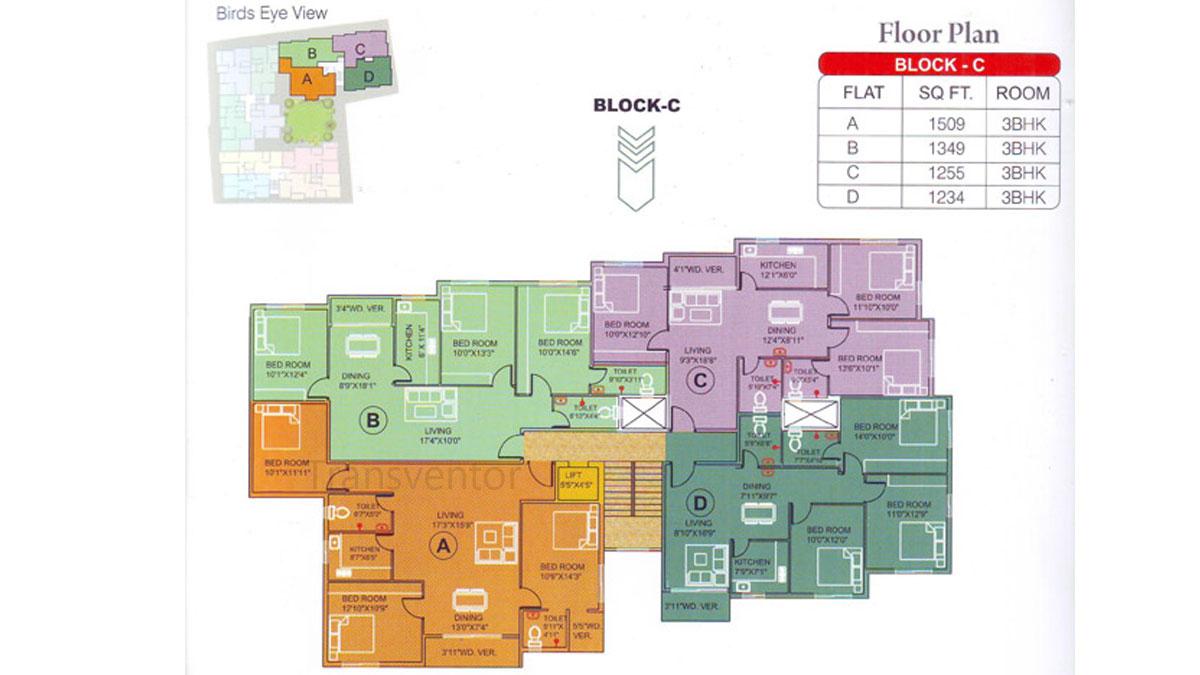 Meena Elegant Floor Plan 4