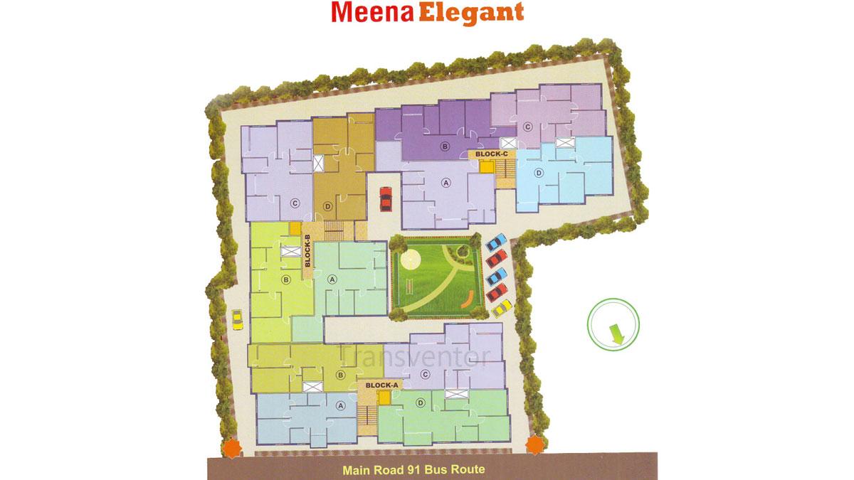 Meena Elegant Floor Plan 1