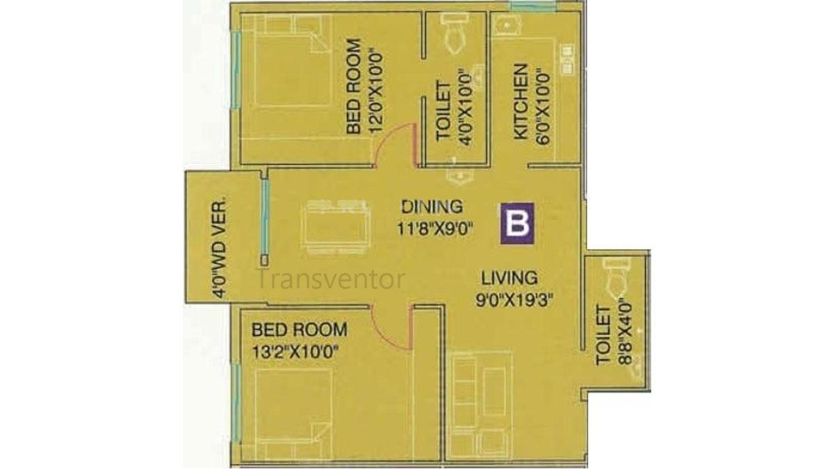 Meena Florence Floor Plan 3