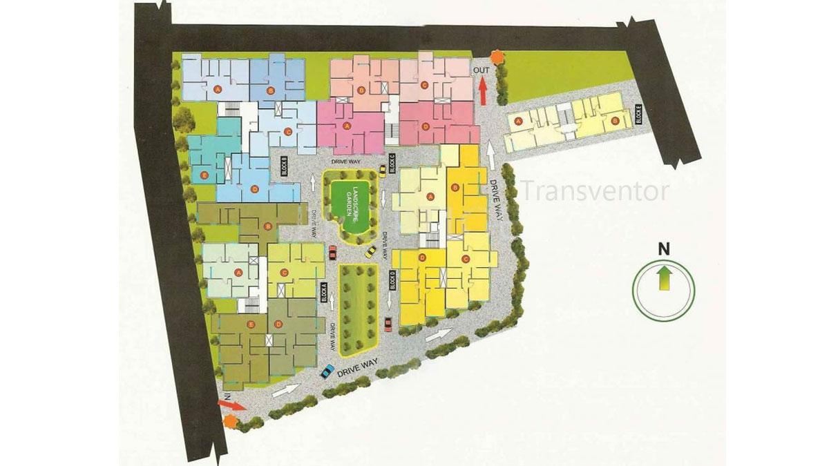 Meena Florence Floor Plan 1