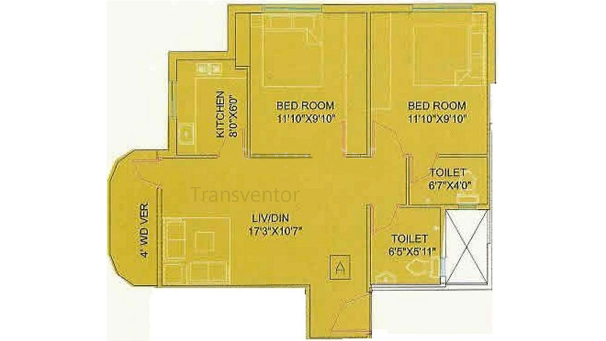 Meena Garden Floor Plan 1