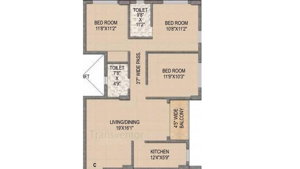 Mounthill The Rain Forest Floor Plan 8