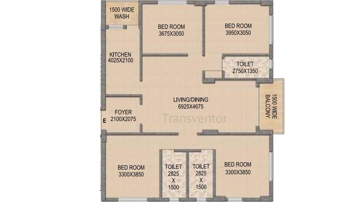 Mounthill The Rain Forest Floor Plan 12