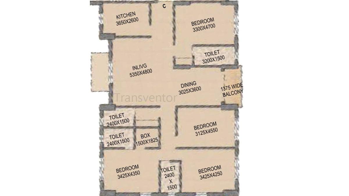 Mounthill The Rain Forest Floor Plan 14