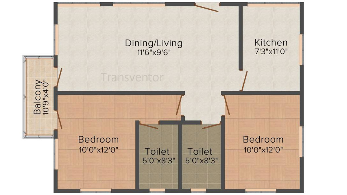 Mounthill Essence Floor Plan 4