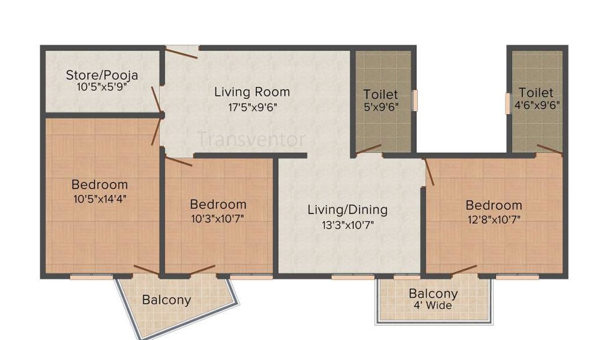 Mounthill Essence Floor Plan 6