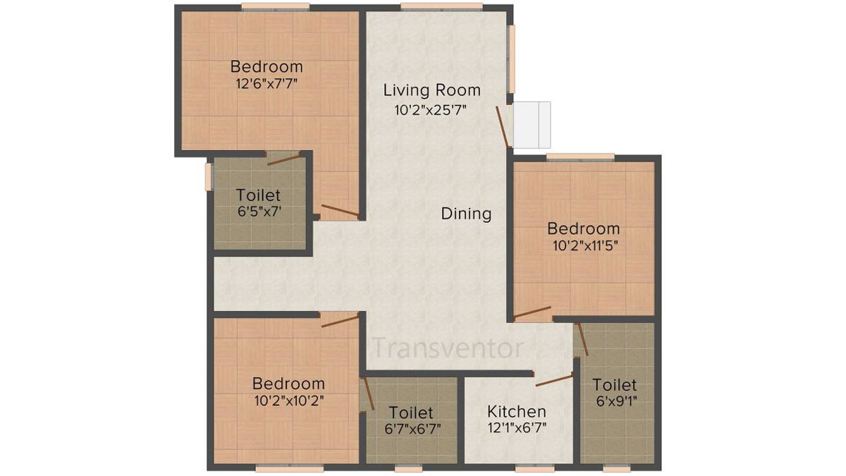 Mounthill Essence Floor Plan 7