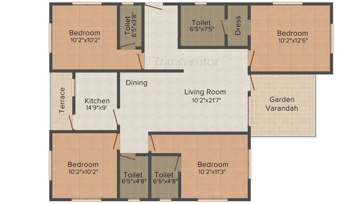 Mounthill Essence Floor Plan 8