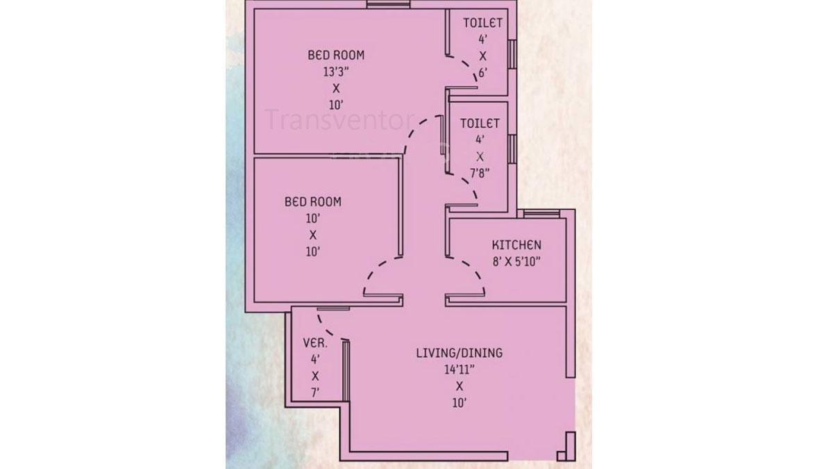 Orchid Lavanya Floor Plan 3