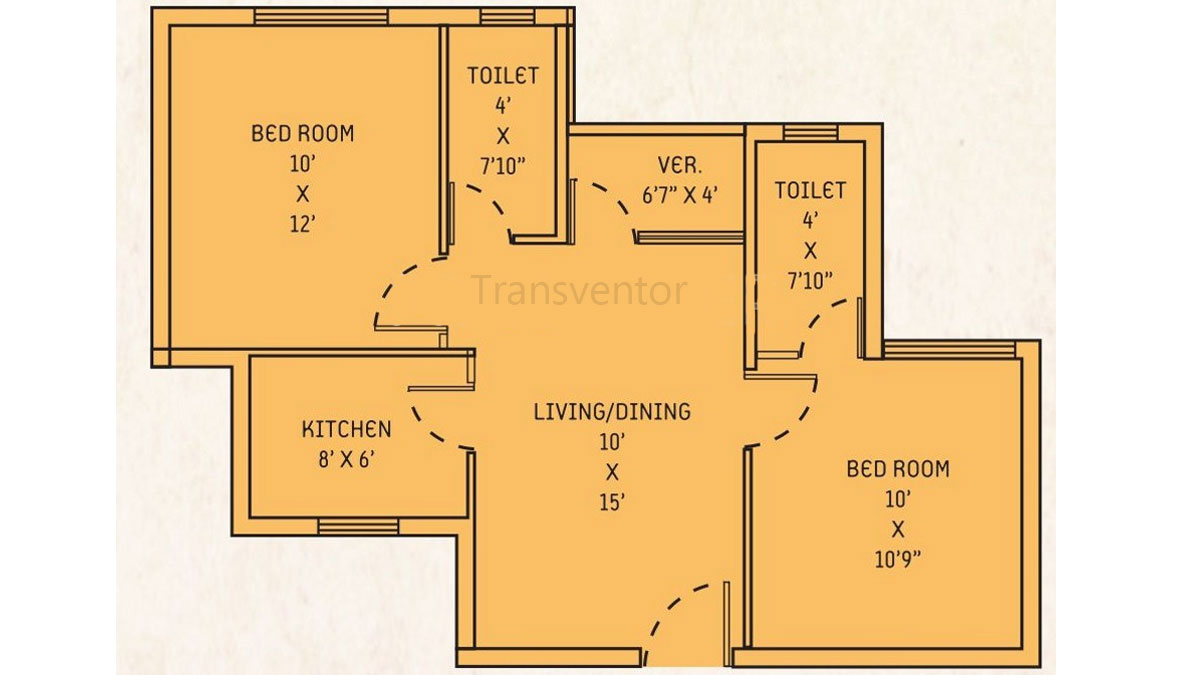 Orchid Lavanya Floor Plan 2