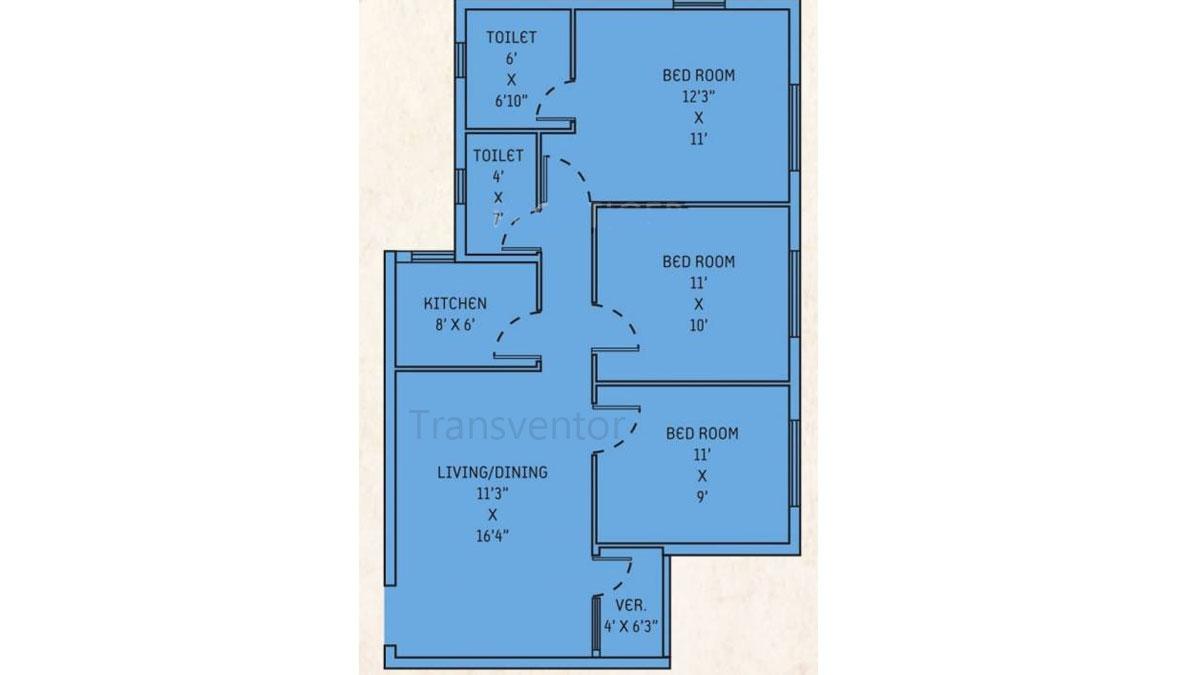 Orchid Lavanya Floor Plan 4