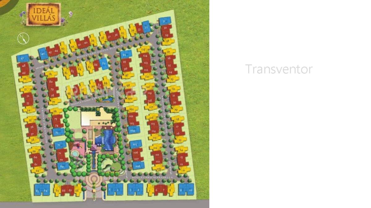 Ideal Villas Floor Plan 1