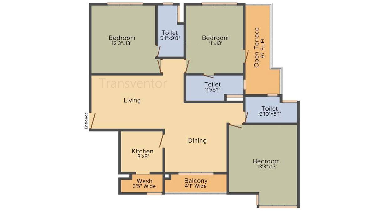 PS Magnum Floor Plan 2