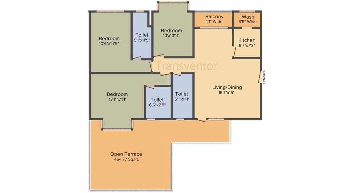 PS Magnum Floor Plan 3