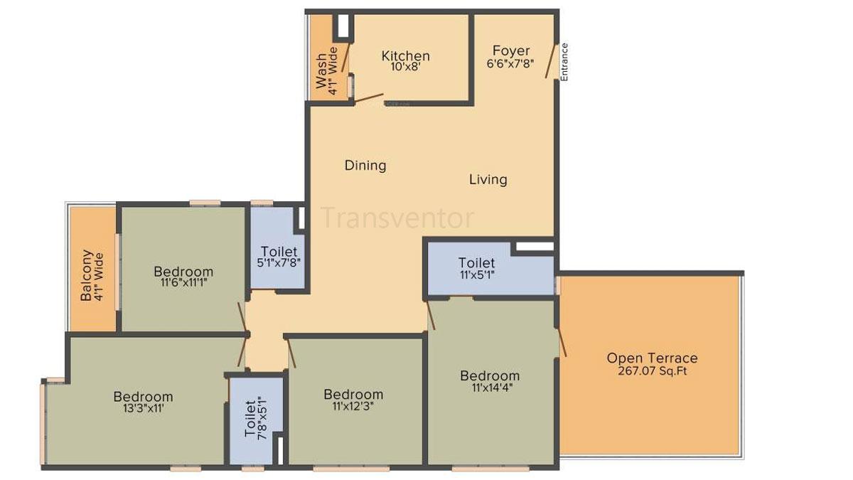 PS Magnum Floor Plan 5