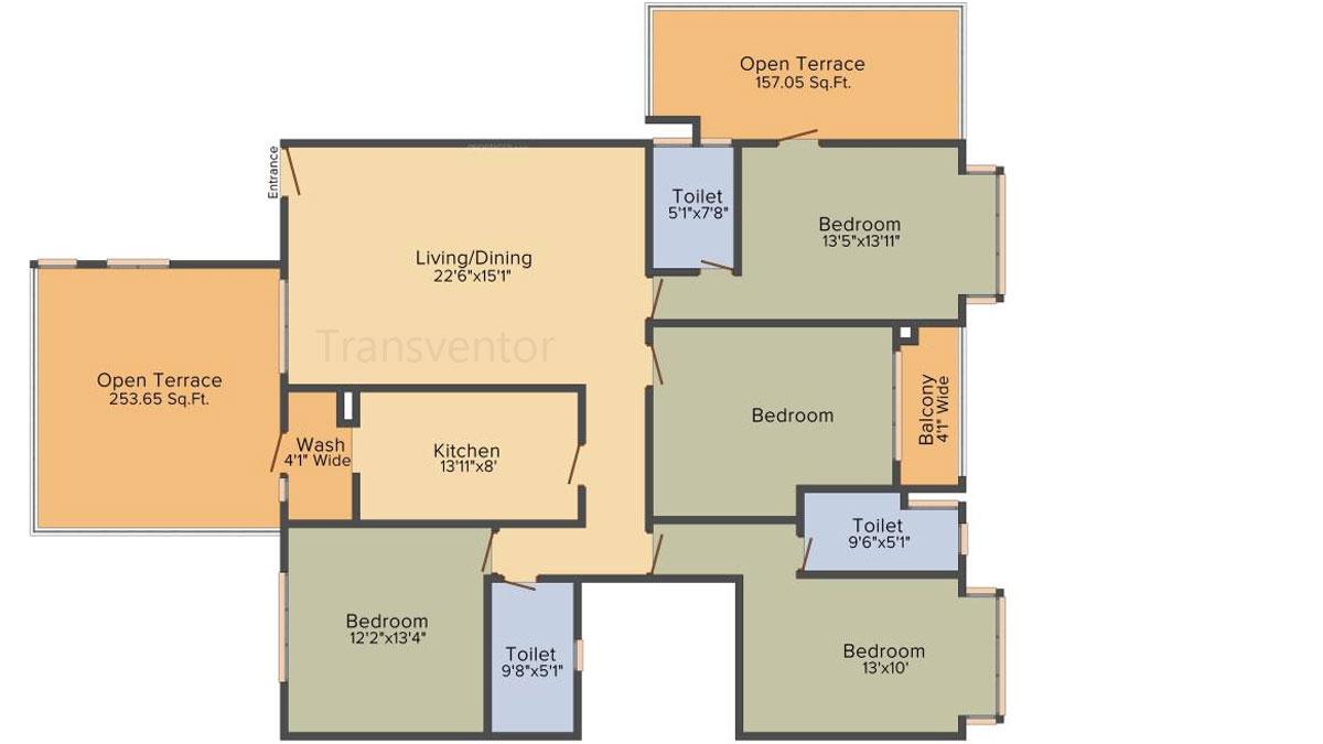 PS Magnum Floor Plan 6