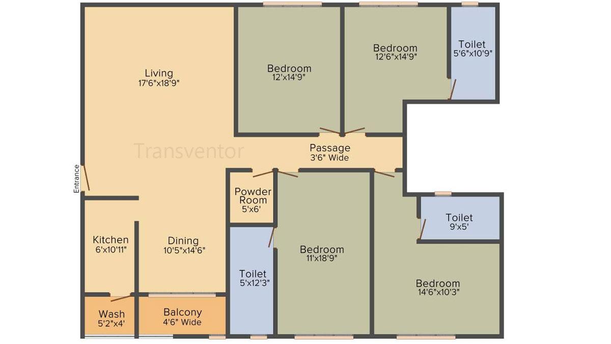PS Magnum Floor Plan 8