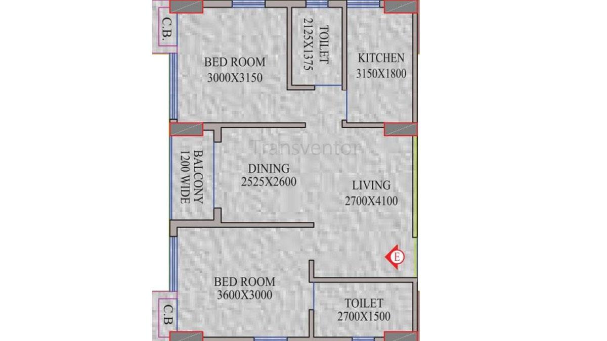 Realmark Oracle Floor Plan 1