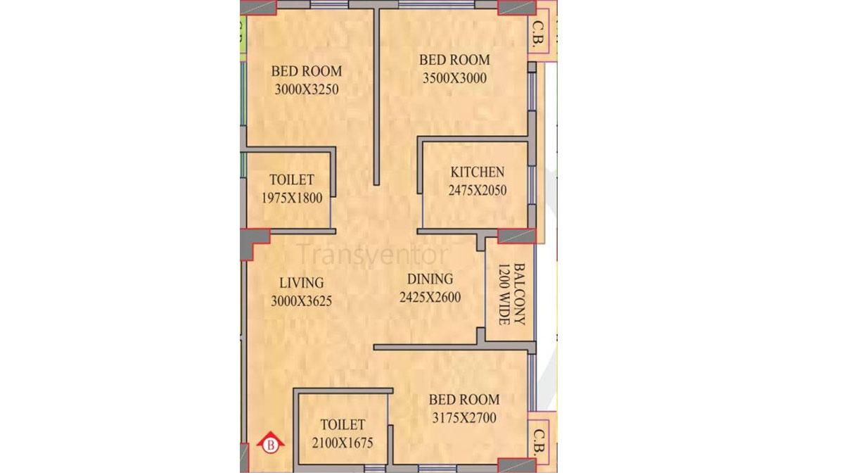 Realmark Oracle Floor Plan 4