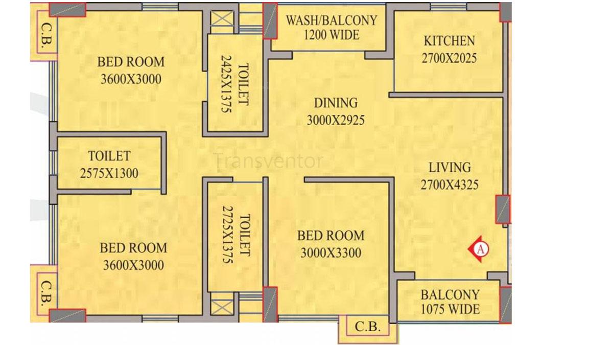 Realmark Oracle Floor Plan 5