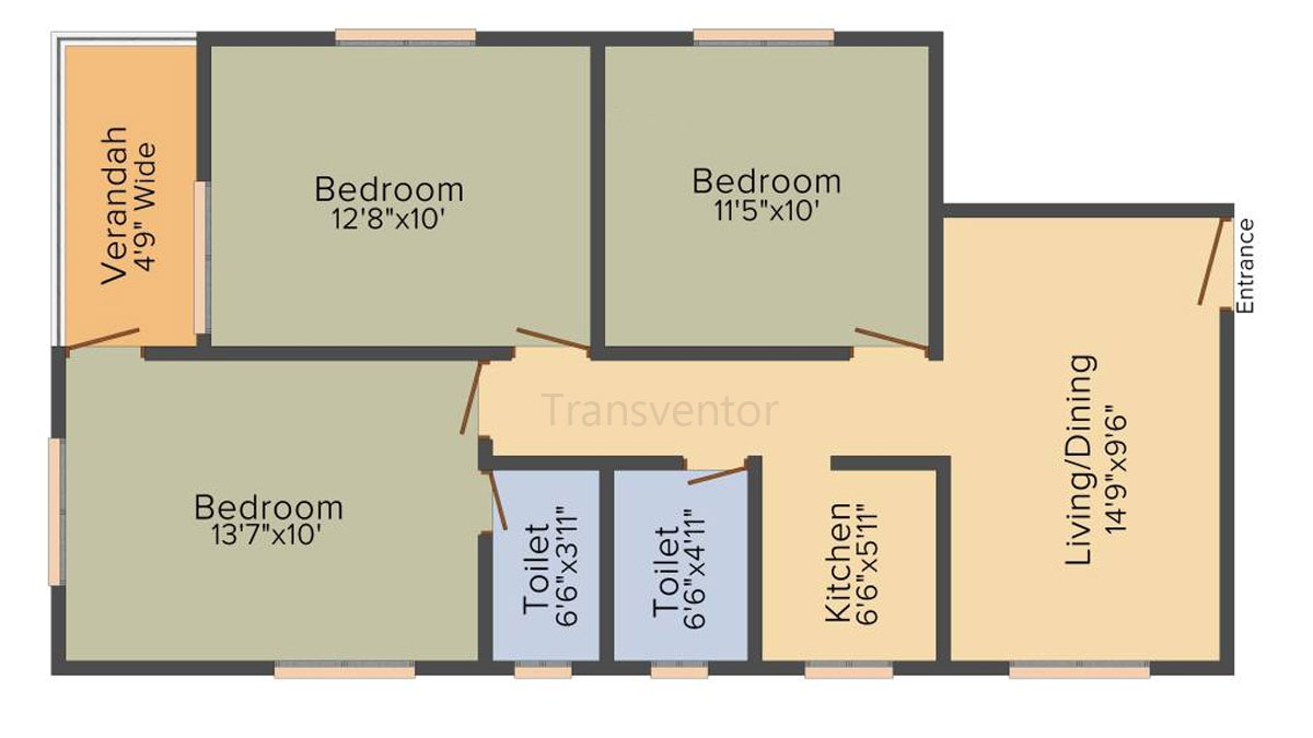 Shreshta Garden Floor Plan 9