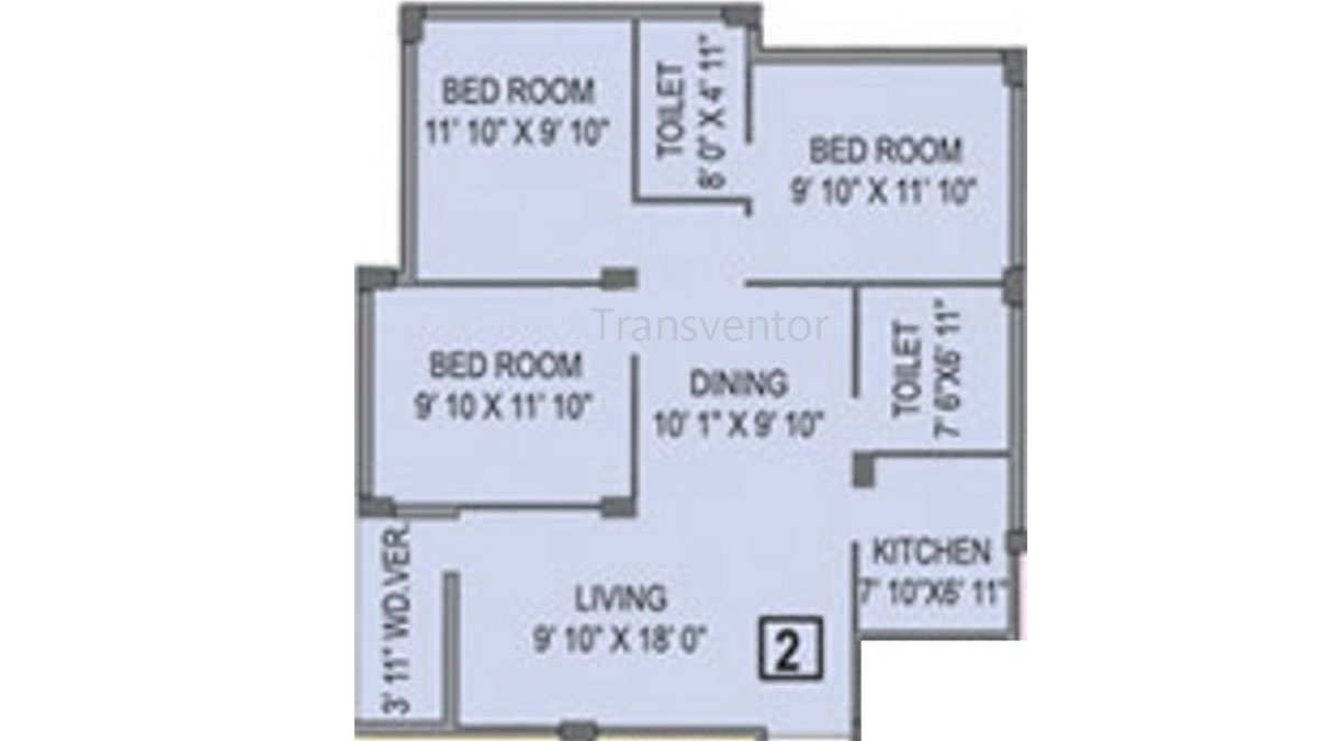Shreshta Garden Floor Plan 10