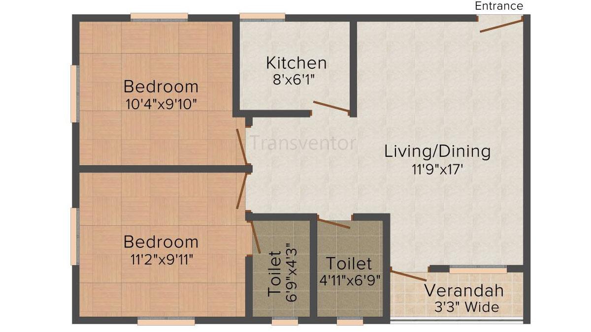 Skyline Bliss Floor Plan 2