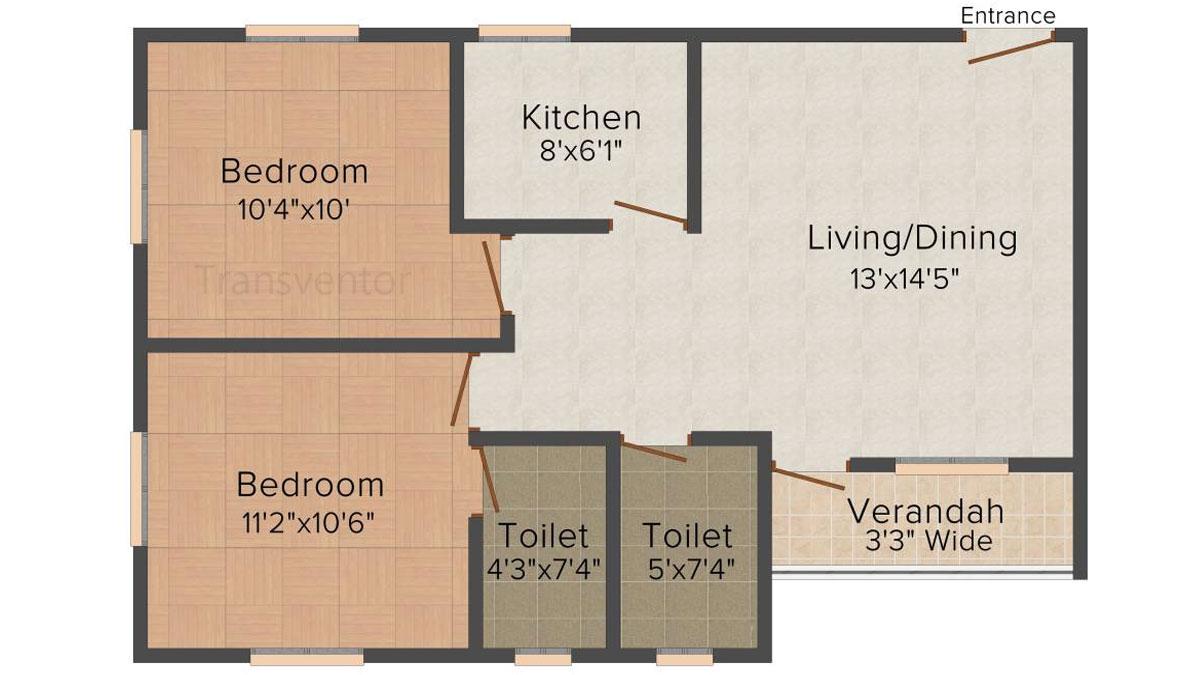 Skyline Bliss Floor Plan 3