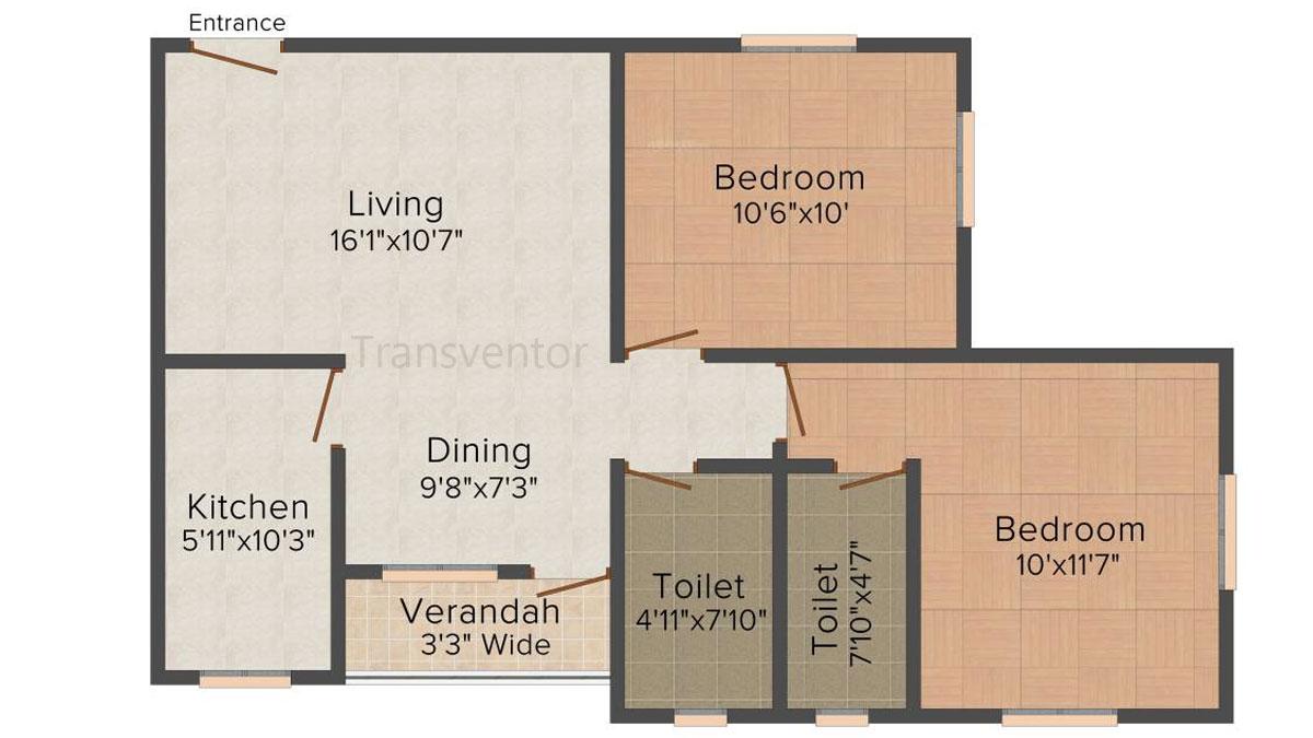 Skyline Bliss Floor Plan 4