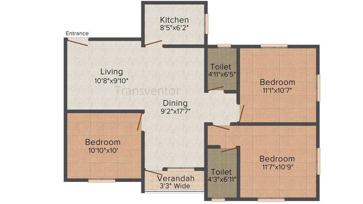 Skyline Bliss Floor Plan 7