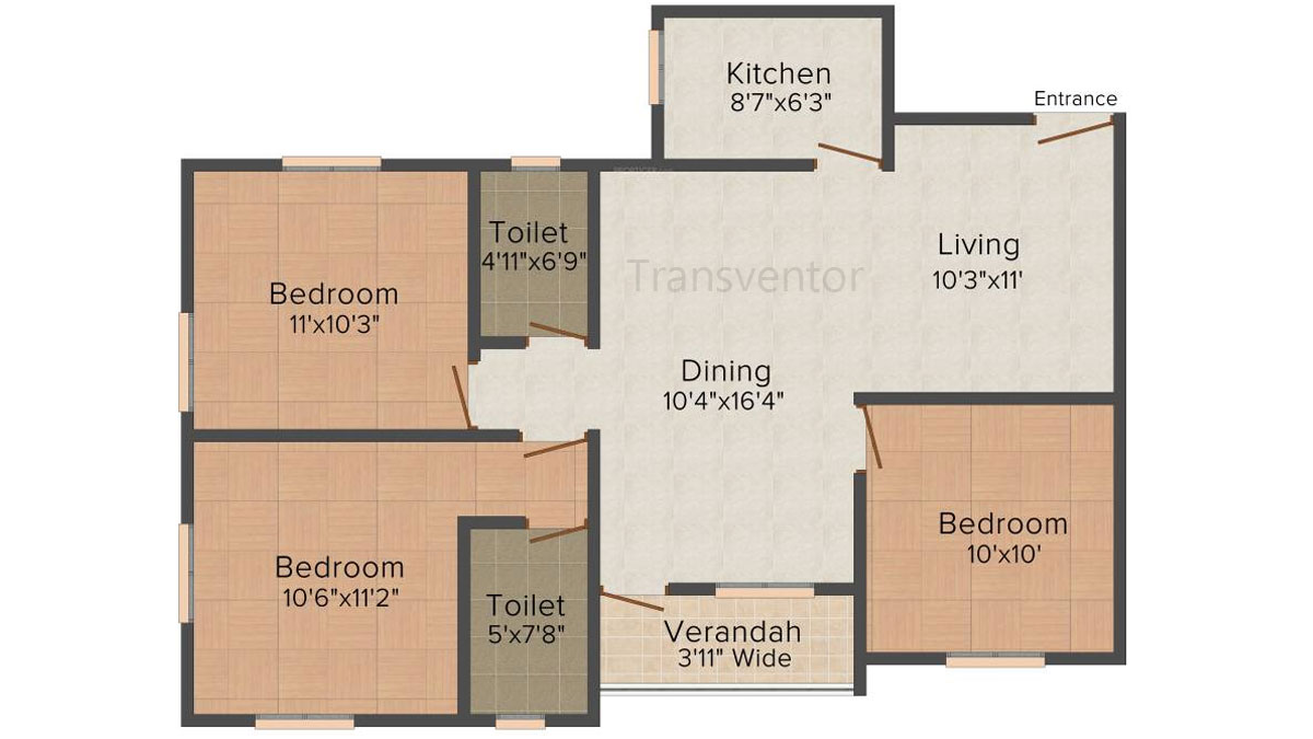 Skyline Bliss Floor Plan 8
