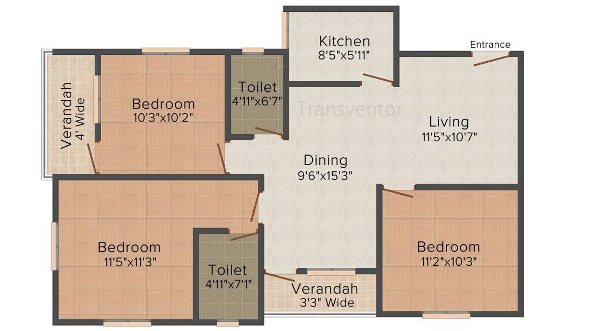 Skyline Bliss Floor Plan 9