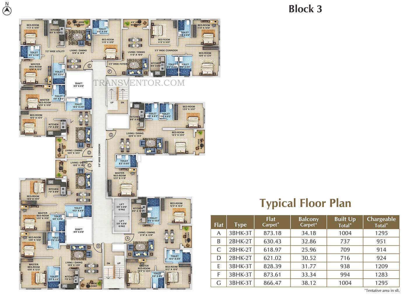 Signum Windmere Floor Plan 1